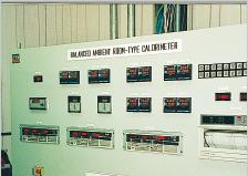 Balance calorimeter
